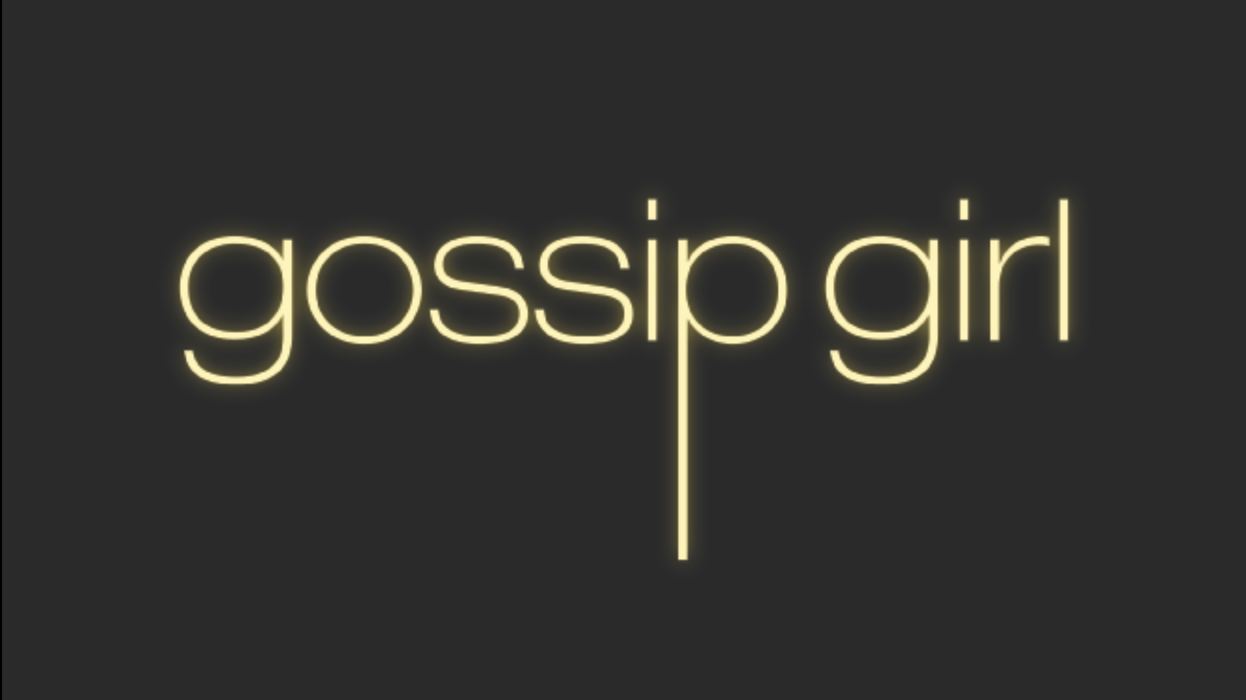 gossip girl cover title screen